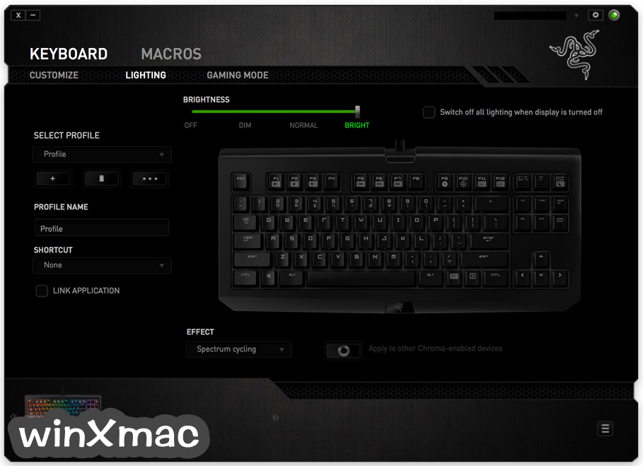 Razer Synapse for Mac Screenshot 3