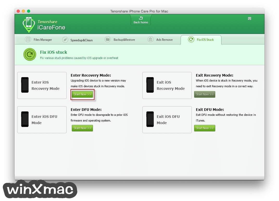 Tenorshare iCareFone for Mac Screenshot 5