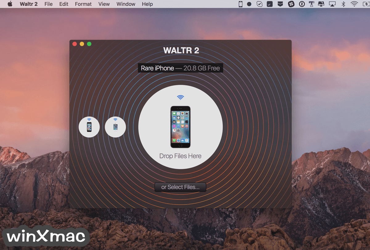 WALTR for Mac Screenshot 1