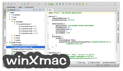 Android Studio for Mac Screenshot 5