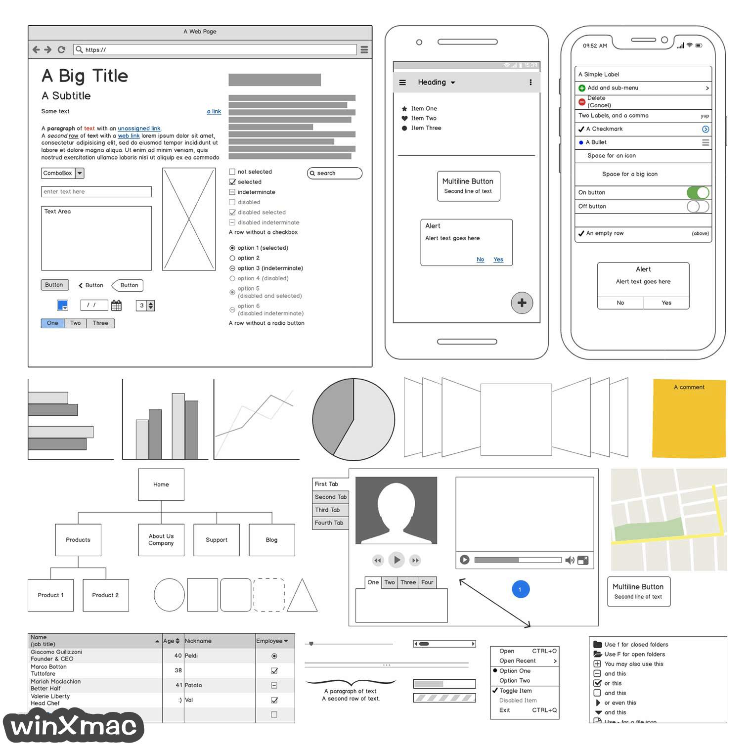 Balsamiq Wireframes for Mac Screenshot 2
