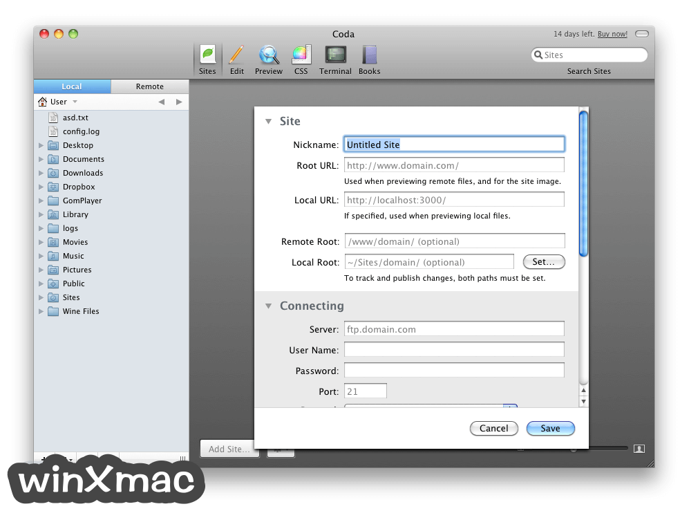 Coda for Mac Screenshot 2