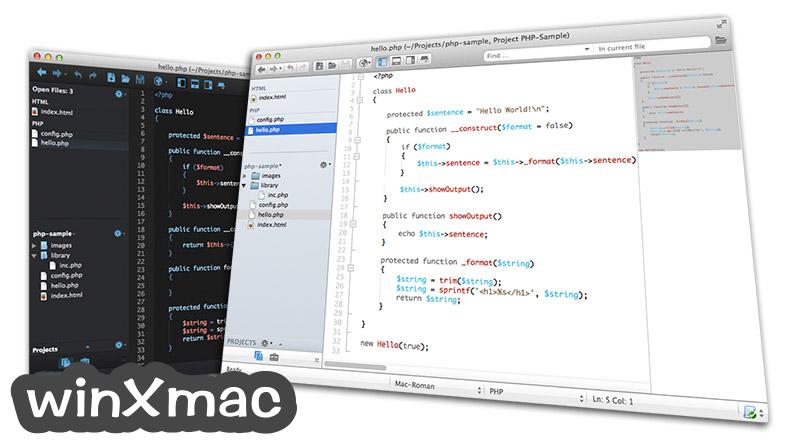 Komodo Edit for Mac Screenshot 1