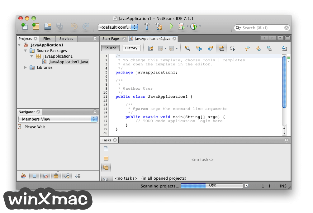 NetBeans IDE for Mac Screenshot 5