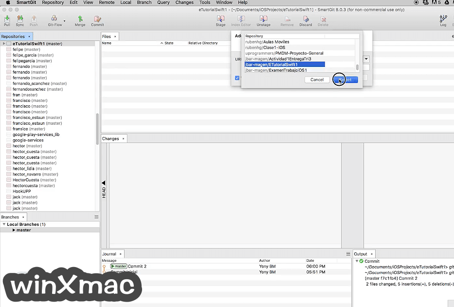 SmartGit for Mac Screenshot 2