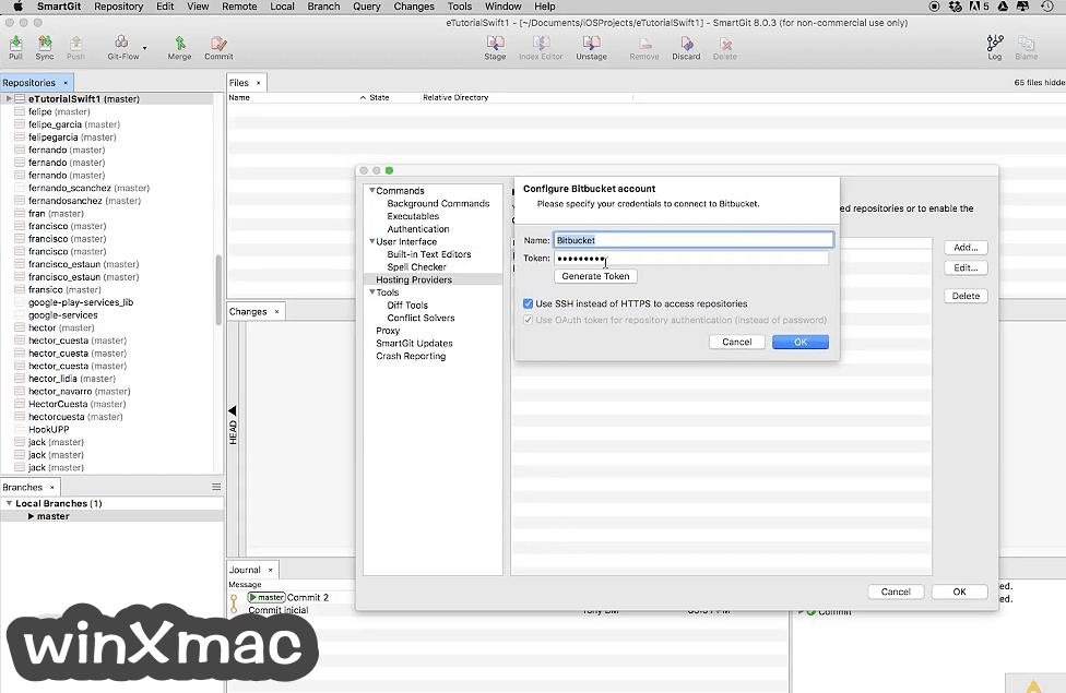 SmartGit for Mac Screenshot 3