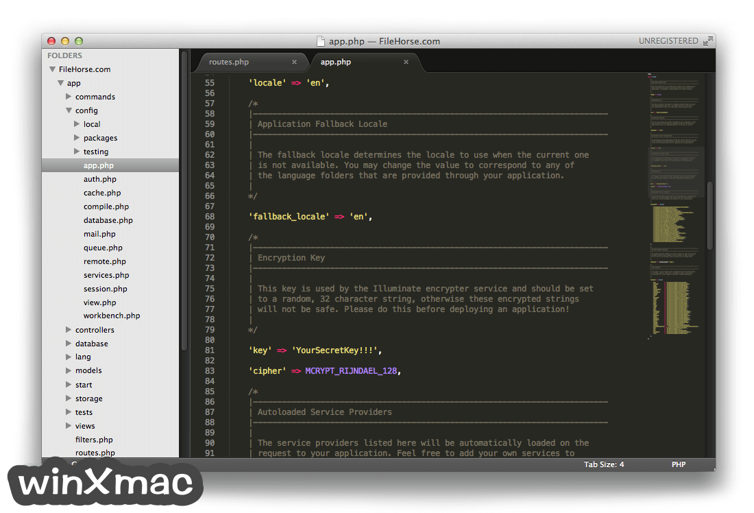 Sublime Text for Mac Screenshot 1