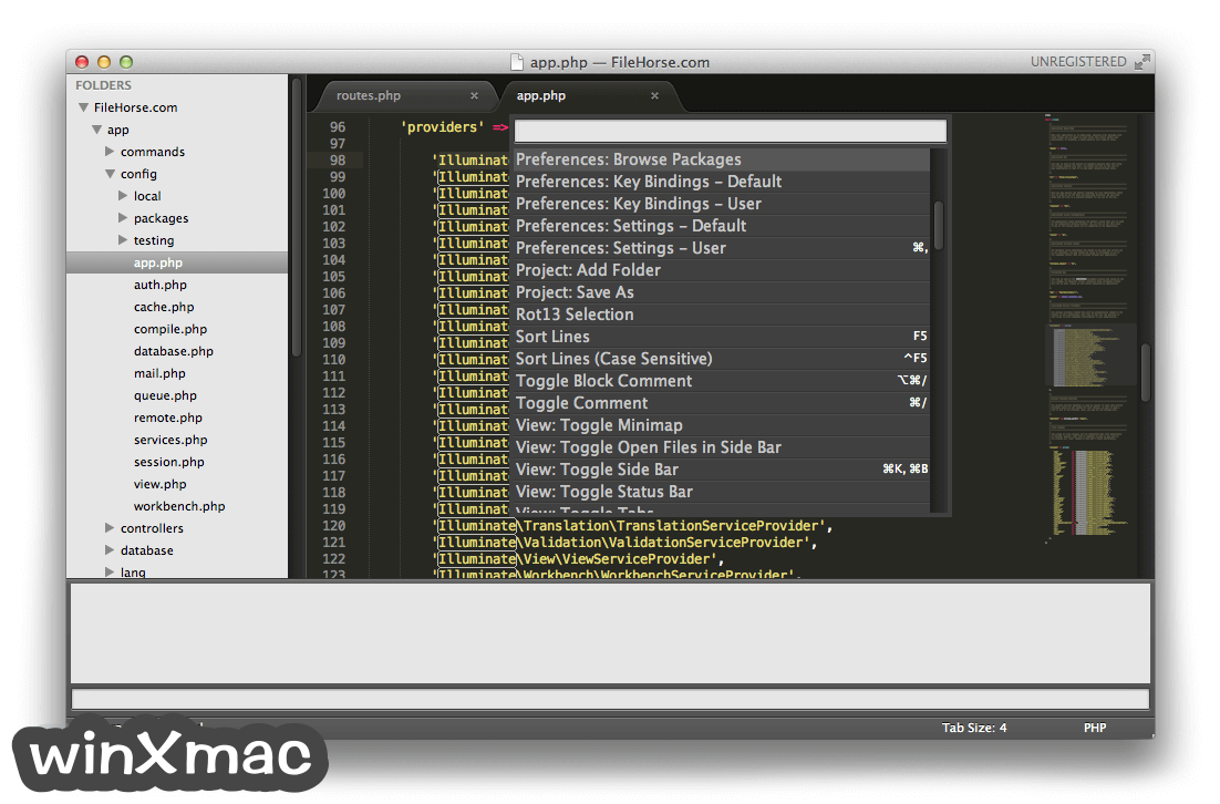 Sublime Text for Mac Screenshot 2