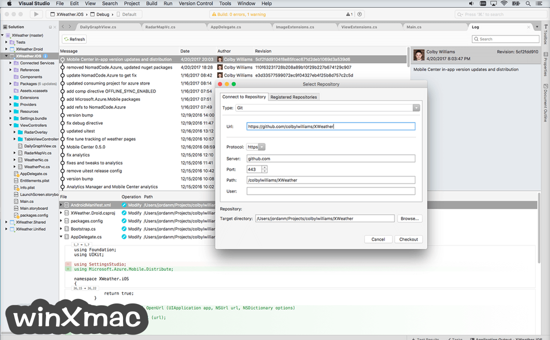 Visual Studio Community for Mac Screenshot 4