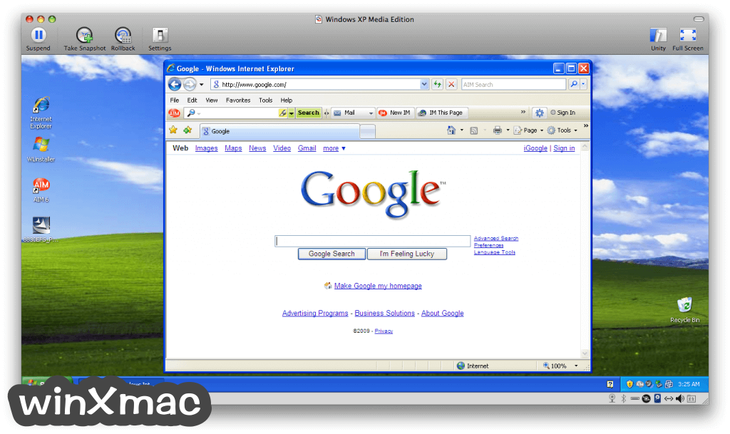 VMware Fusion for Mac Screenshot 3