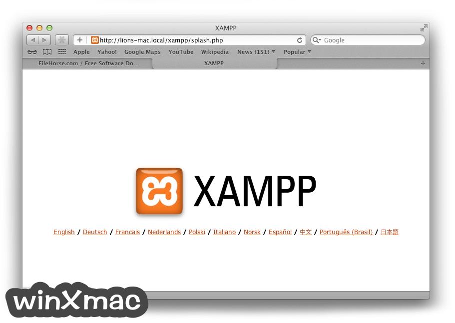 XAMPP for Mac Screenshot 4