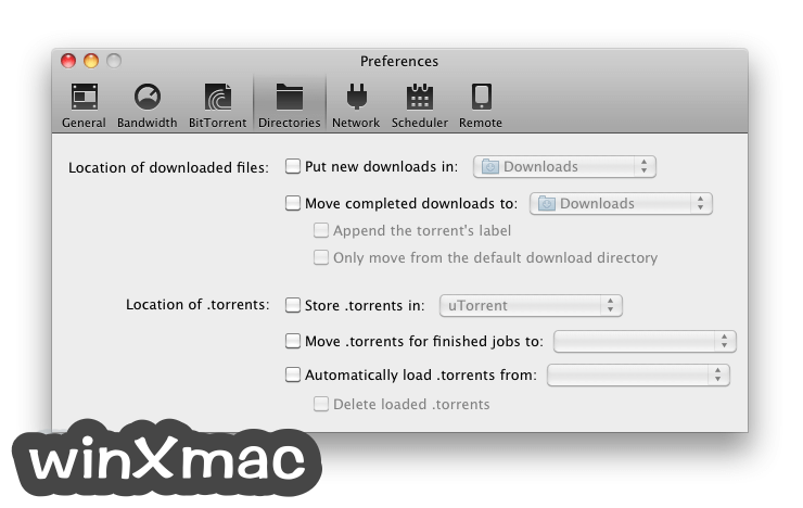 BitTorrent for Mac Screenshot 4