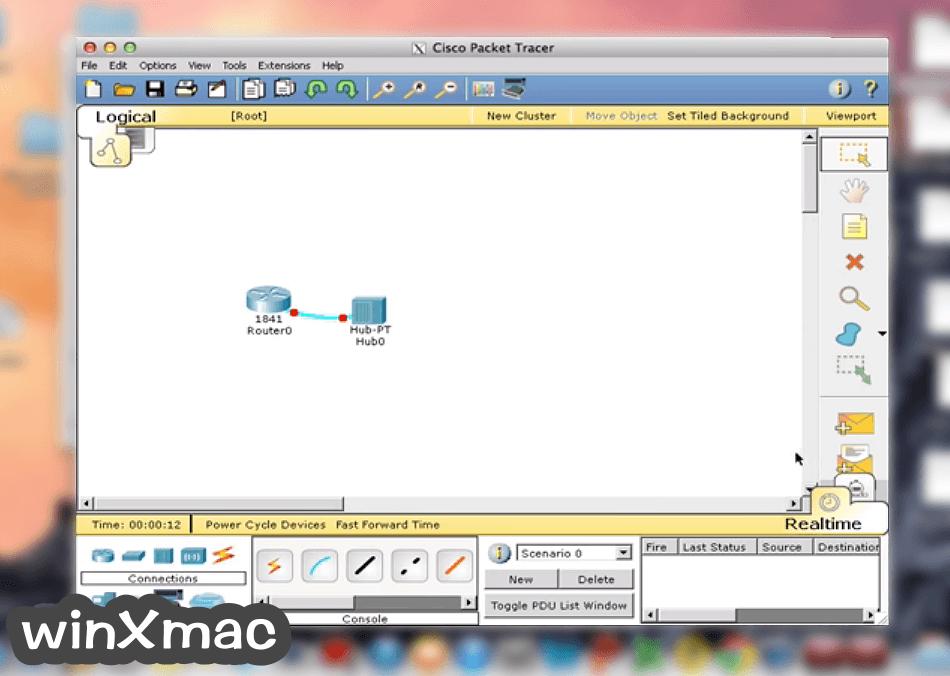 Cisco Packet Tracer for Mac Screenshot 2