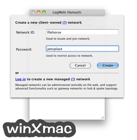 LogMeIn Hamachi for Mac Screenshot 4