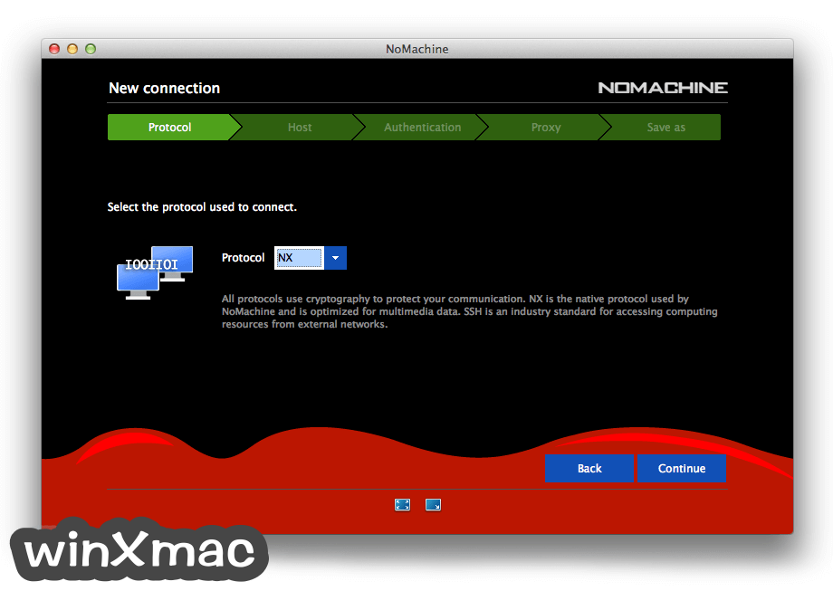 NoMachine for Mac Screenshot 3