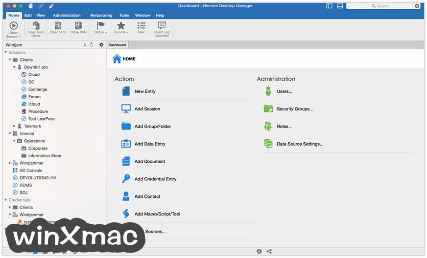 Remote Desktop Manager for Mac Screenshot 1