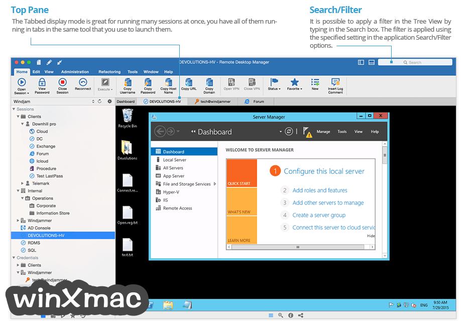 Remote Desktop Manager for Mac Screenshot 2