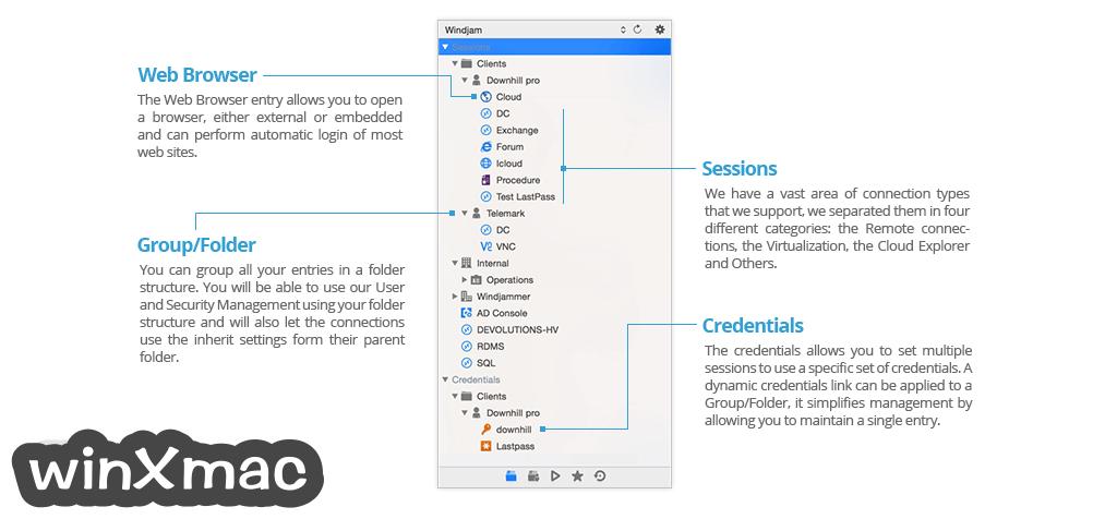 Remote Desktop Manager for Mac Screenshot 3