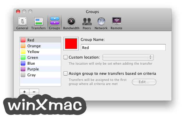 Transmission for Mac Screenshot 5