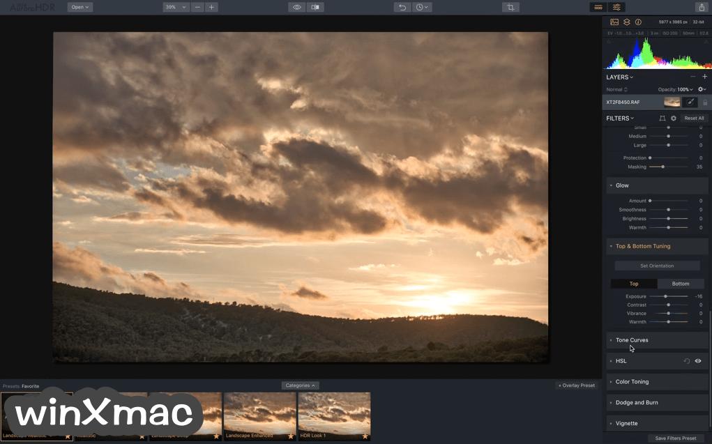 Aurora HDR for Mac Screenshot 2
