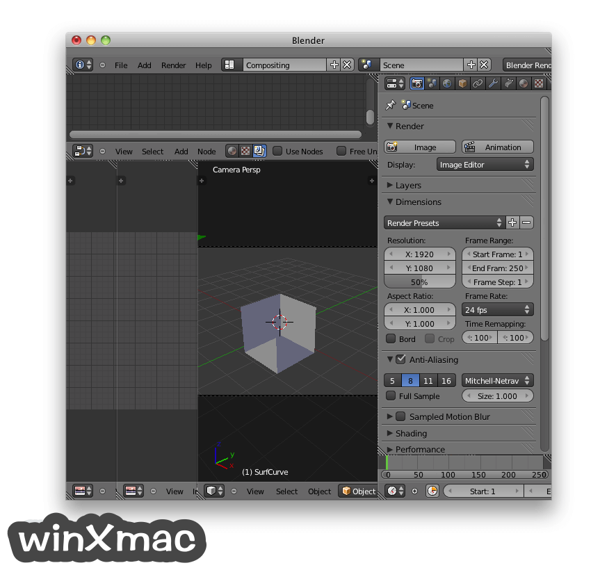 Blender for Mac Screenshot 3