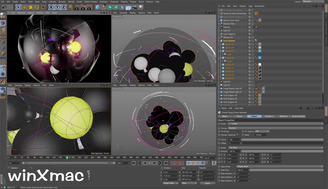CINEMA 4D for Mac Screenshot 1