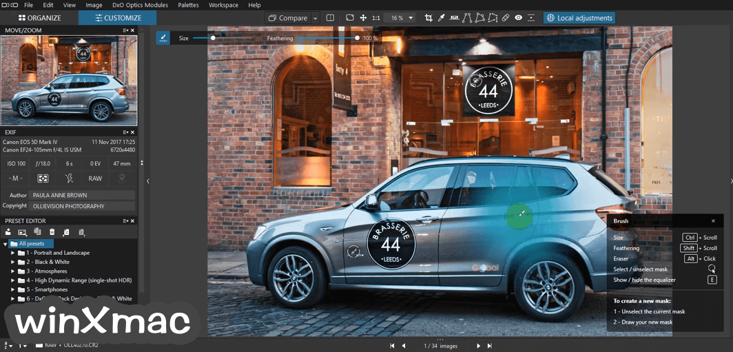 DxO PhotoLab for Mac Screenshot 2