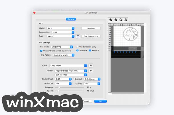 Easy Cut Studio for Mac Screenshot 4