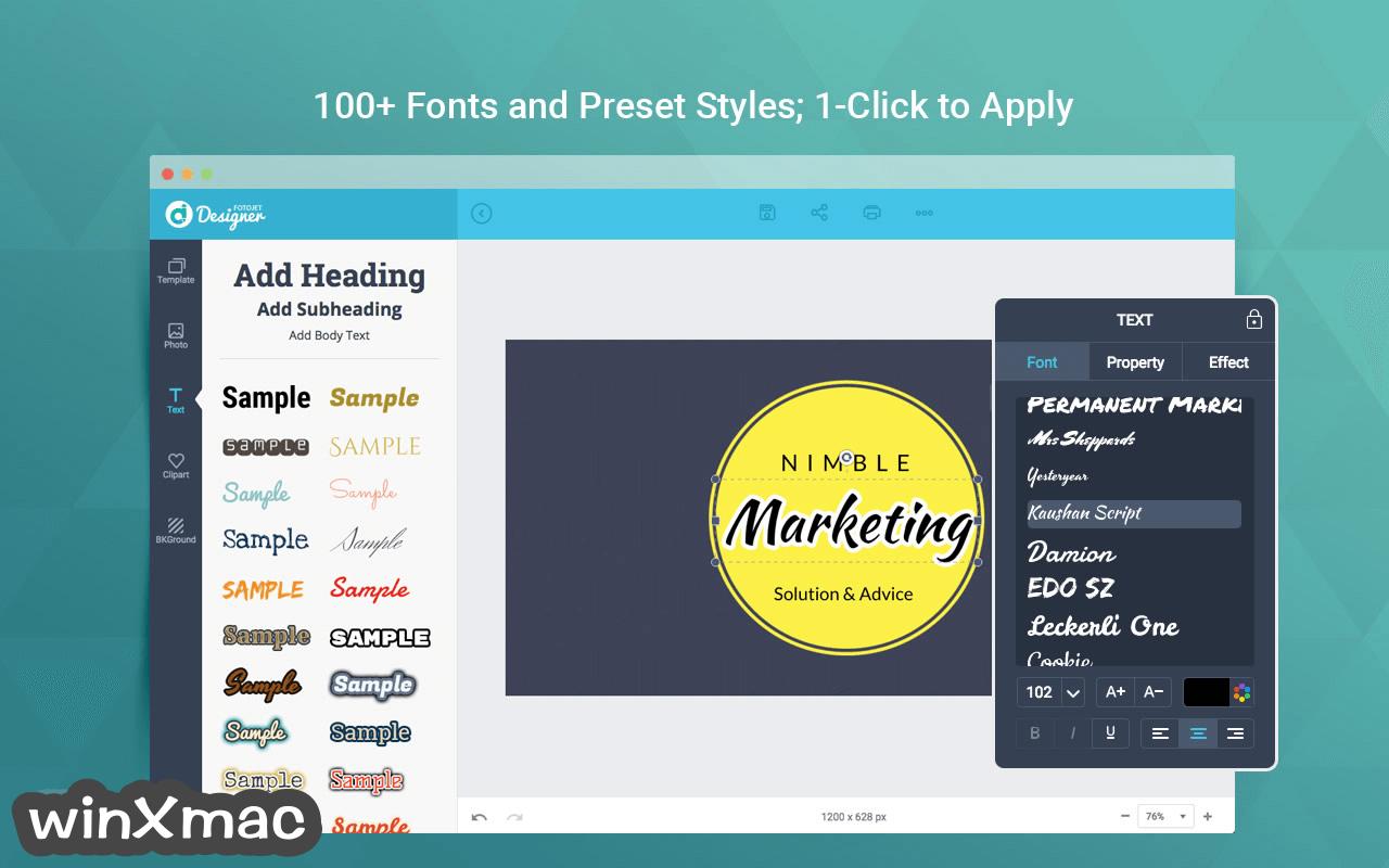 FotoJet Designer for Mac Screenshot 3