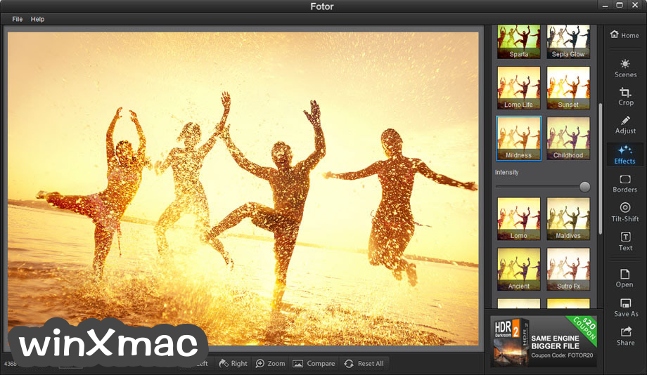Fotor for Mac Screenshot 3