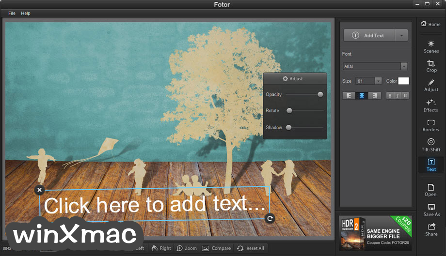 Fotor for Mac Screenshot 4