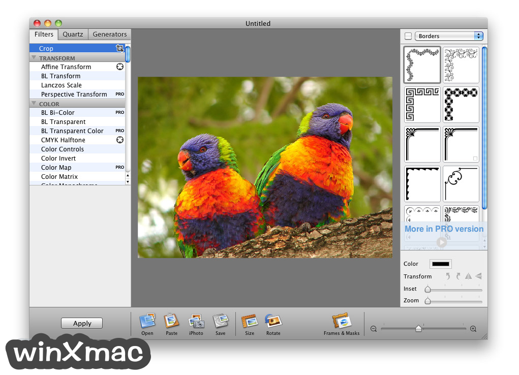 Image Tricks Lite for Mac Screenshot 1
