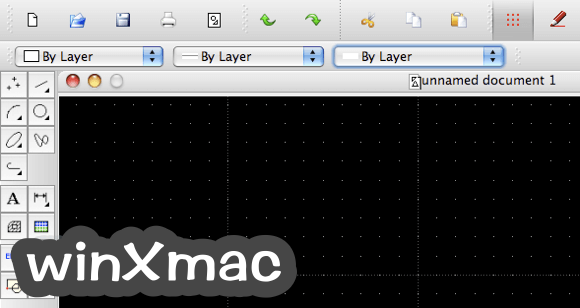 LibreCAD for Mac Screenshot 2