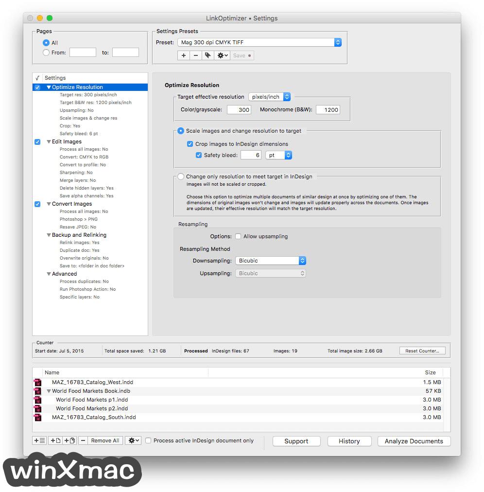 LinkOptimizer for Mac Screenshot 1