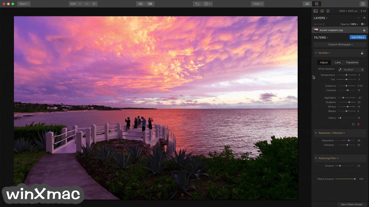 Luminar for Mac Screenshot 1