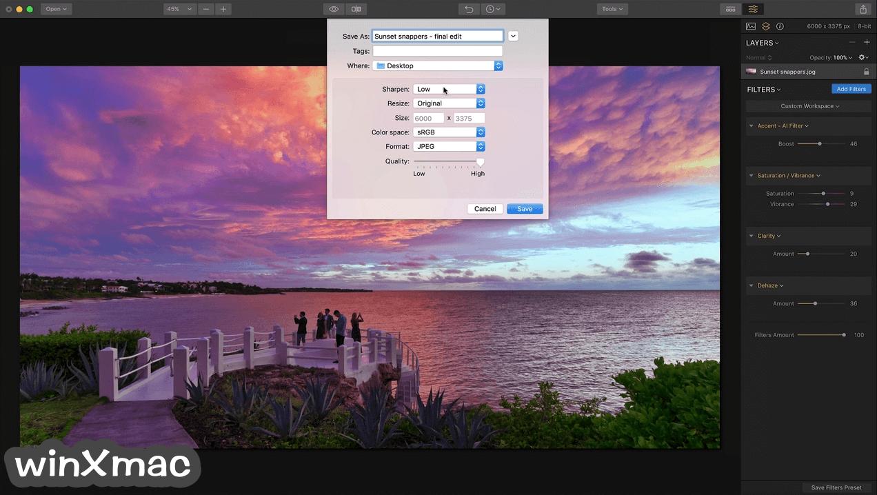 Luminar for Mac Screenshot 4