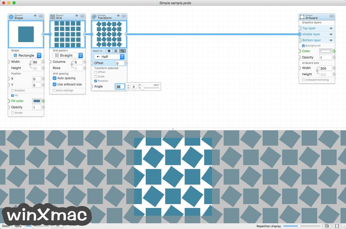 Patternodes for Mac Screenshot 1