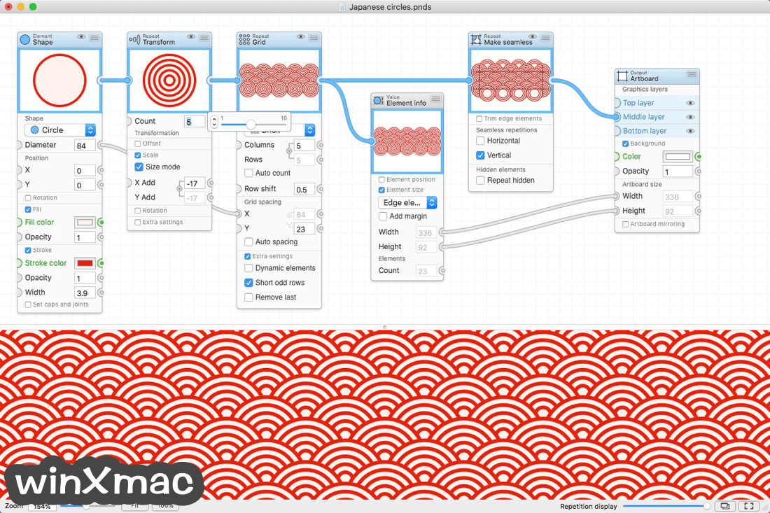 Patternodes for Mac Screenshot 2