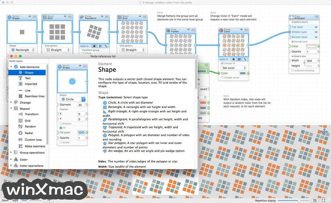 Patternodes for Mac Screenshot 5