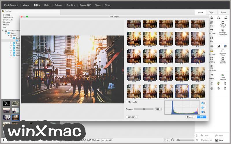 PhotoScape X for Mac Screenshot 1