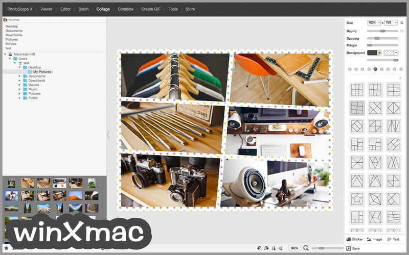 PhotoScape X for Mac Screenshot 4