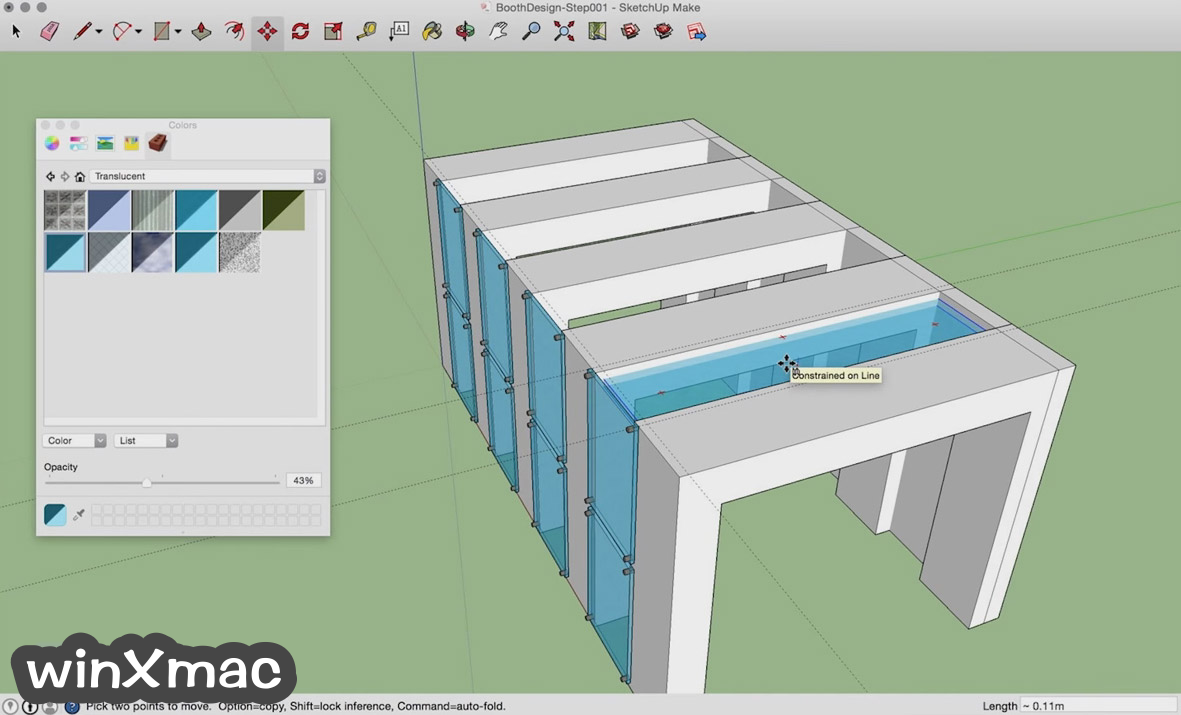SketchUp Make for Mac Screenshot 2