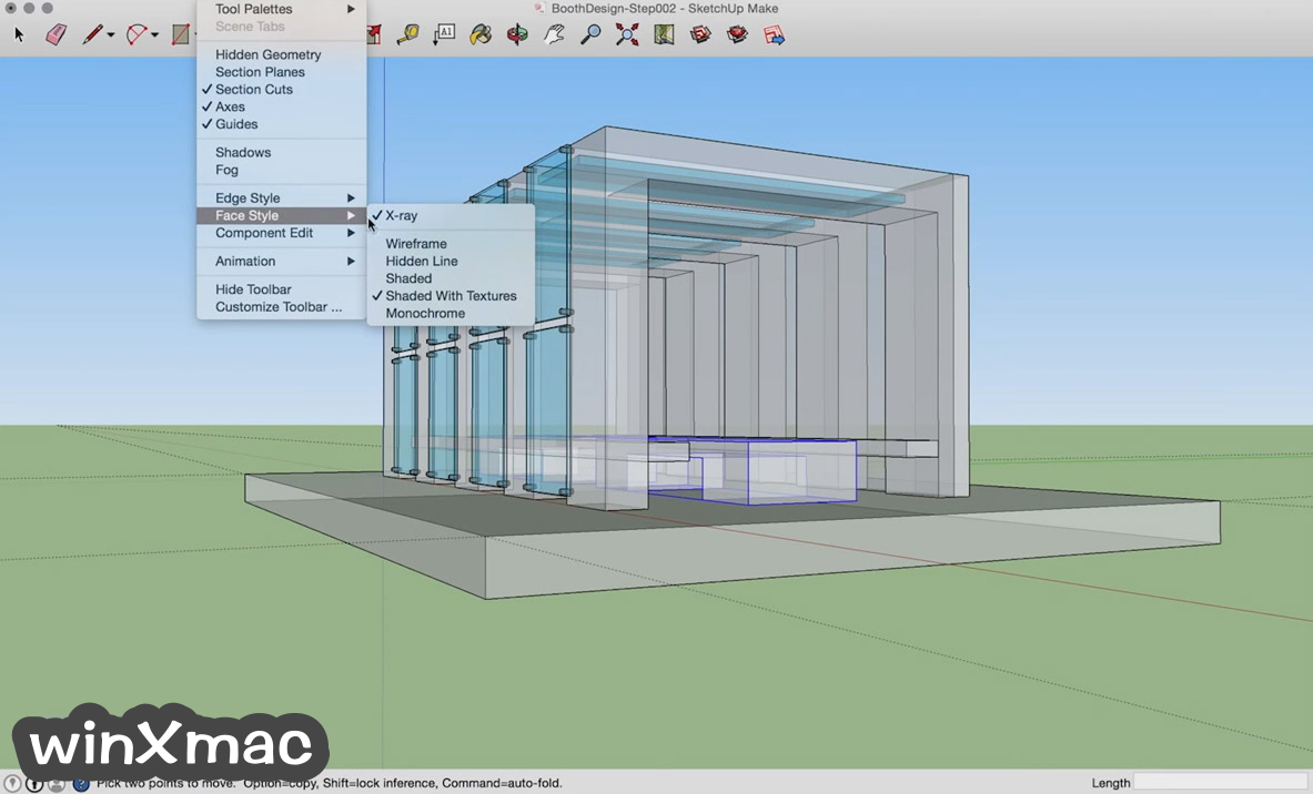 SketchUp Make for Mac Screenshot 3