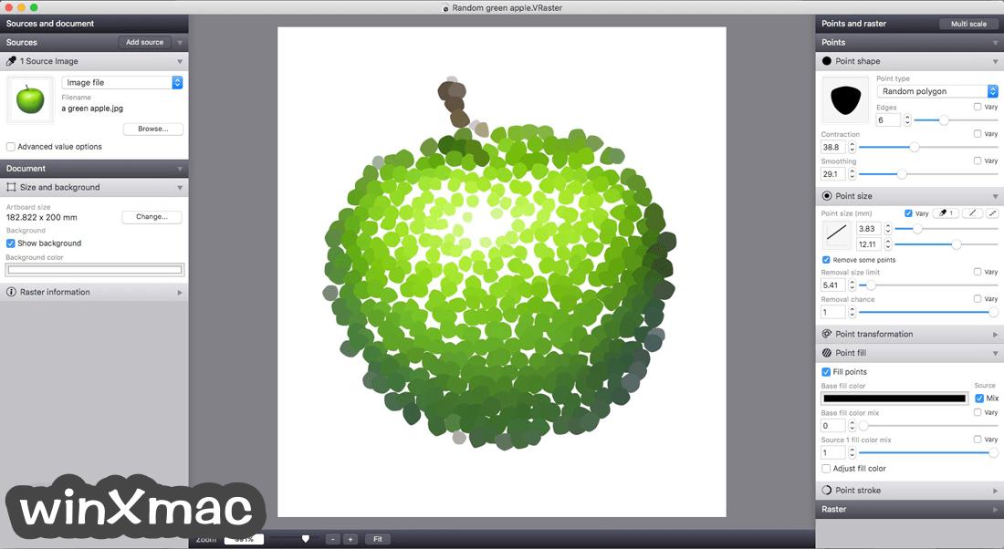 Vectoraster for Mac Screenshot 4