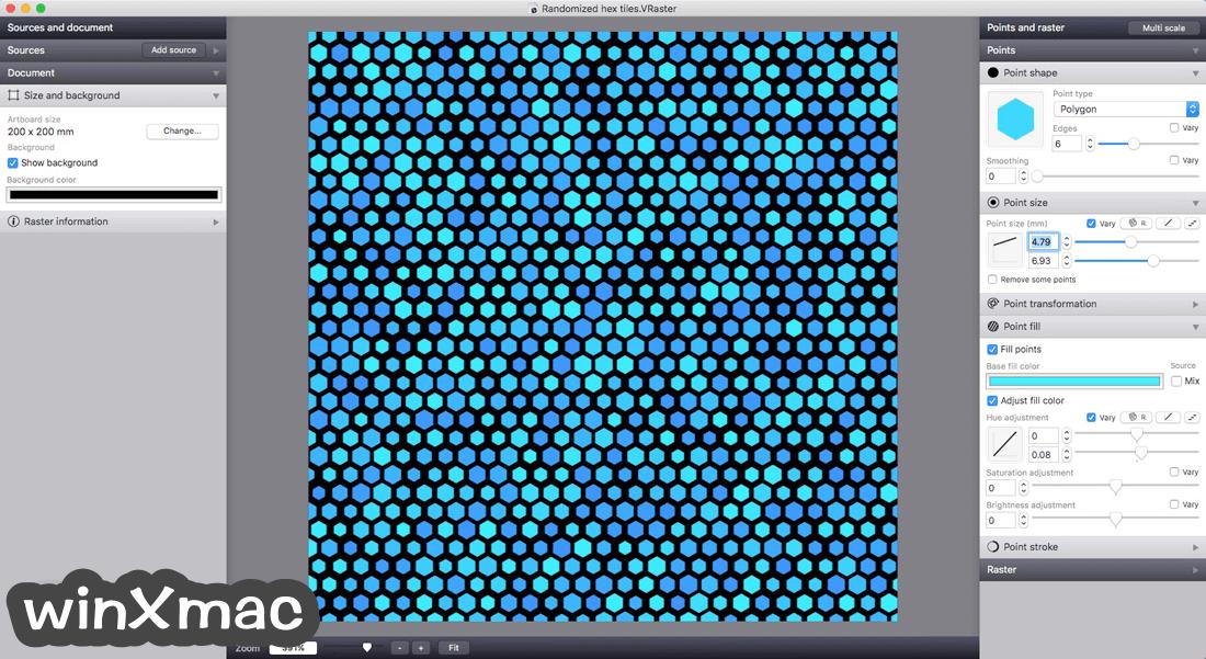 Vectoraster for Mac Screenshot 5