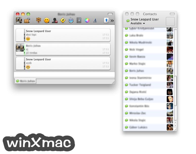 Adium for Mac Screenshot 1