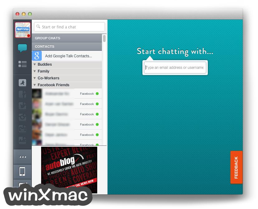 AIM for Mac Screenshot 1