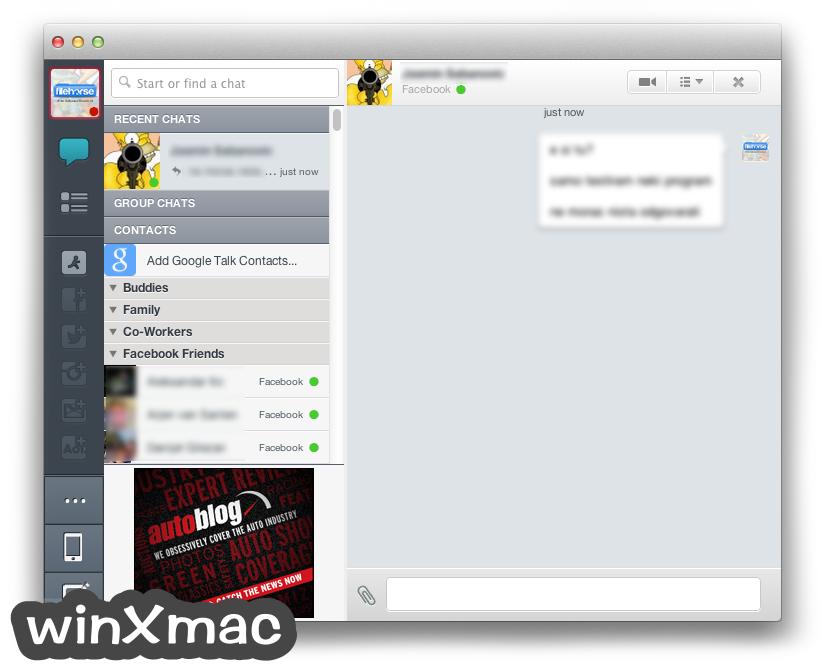 AIM for Mac Screenshot 2