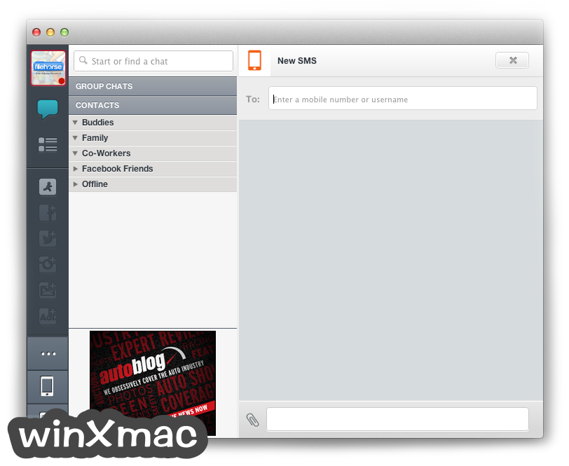 AIM for Mac Screenshot 4