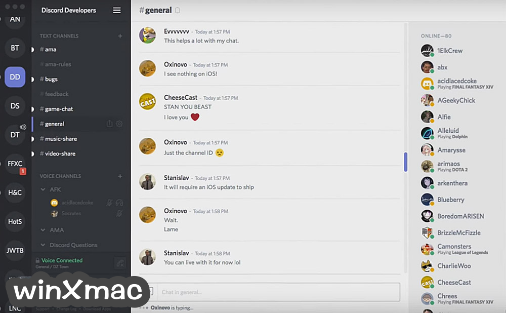Discord for Mac Screenshot 1